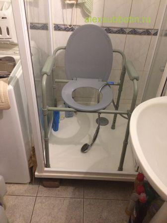 инсульт душ туалет