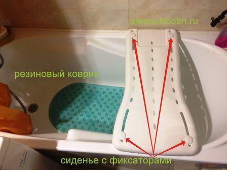 инсульт ванна безопасность